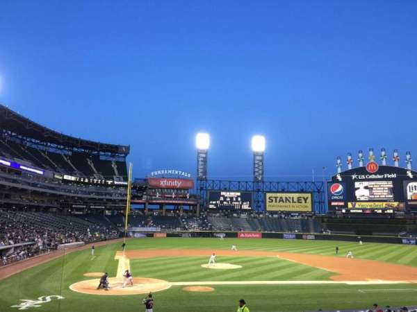 Guaranteed Rate Field, section: 128, row: 24, seat: 9