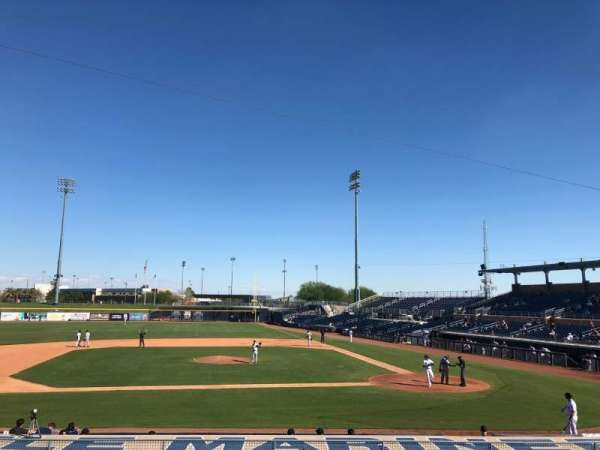 Peoria Sports Complex, section: 209, row: BB, seat: 4