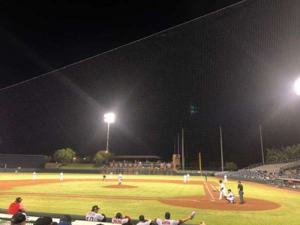 Scottsdale Stadium, section: 105, row: H, seat: 6
