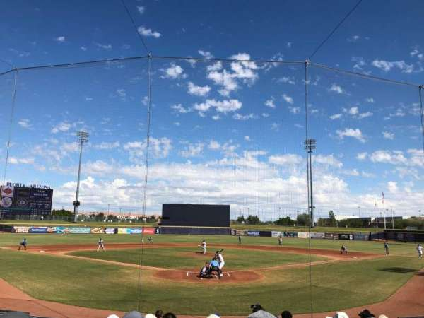 Peoria Sports Complex, section: 100, seat: 10