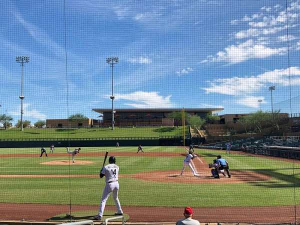 Salt River Fields, section: 114, row: 10, seat: 13