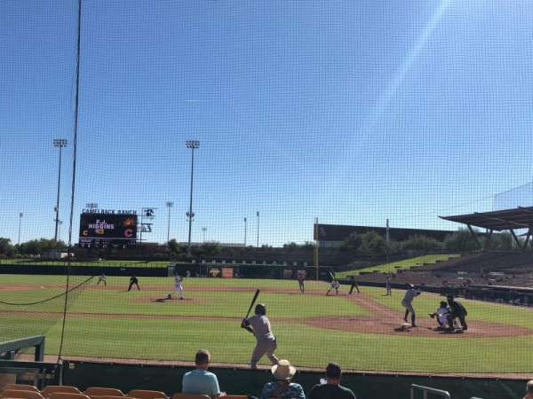 Camelback Ranch, section: 19, row: 9, seat: 1