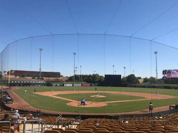 Camelback Ranch, section: 114, row: 12, seat: 13