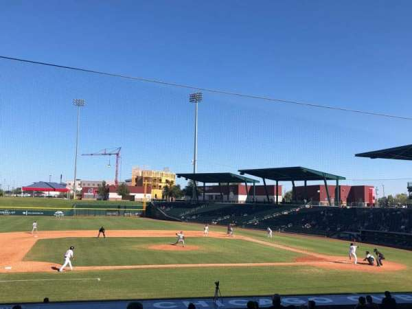 Sloan Park, section: 107, row: 21, seat: 22