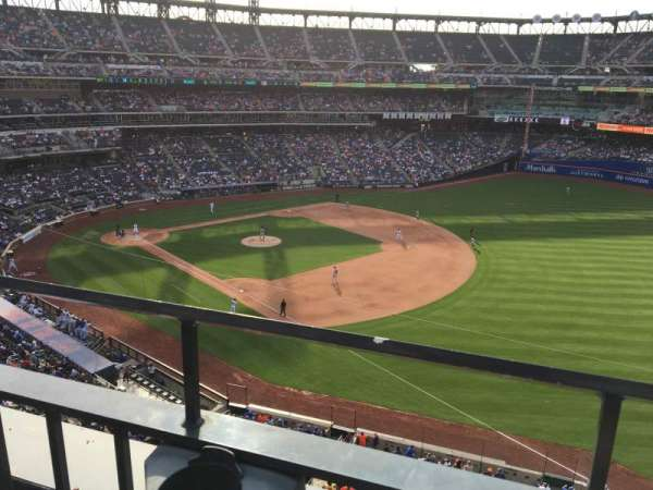 Citi Field, section: 403, row: 1, seat: 13