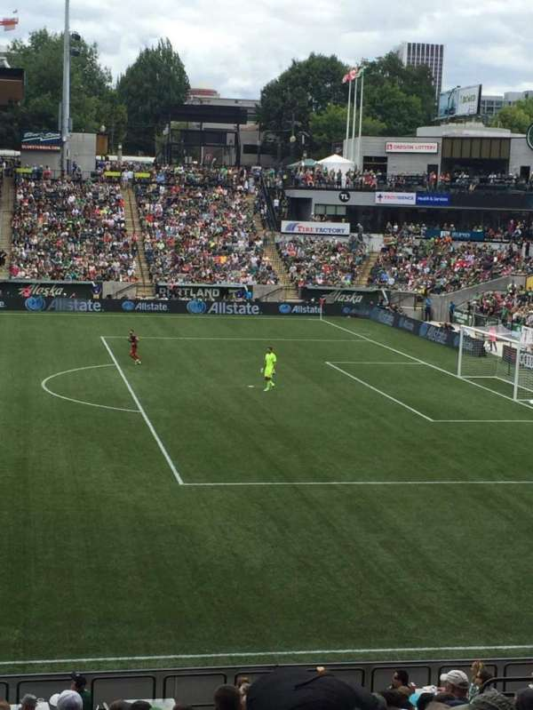 Providence Park, section: 120, row: P, seat: 14