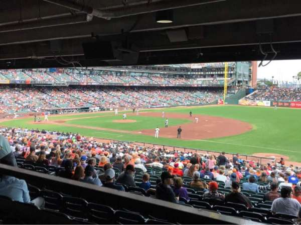 AT&T Park, section: LB104, row: 39, seat: 103