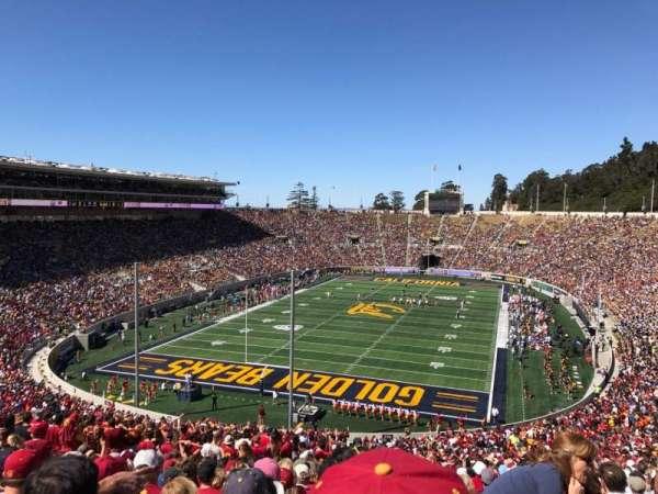California Memorial Stadium, section: N, row: 74, seat: 1
