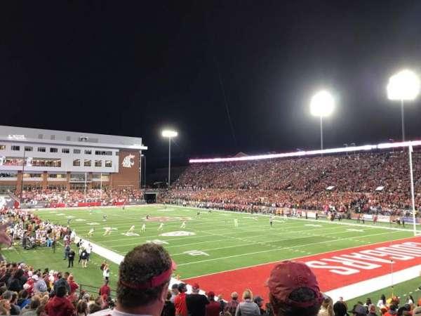 Martin Stadium, section: 13, row: 7, seat: 13