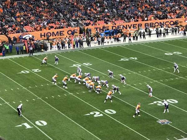 Broncos Stadium at Mile High, section: 343, row: 10, seat: 7