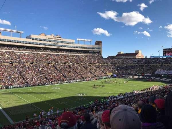 Folsom Field, section: 102, row: 51, seat: 5