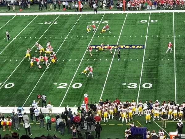 AT&T Stadium, section: C337, row: 16, seat: 1