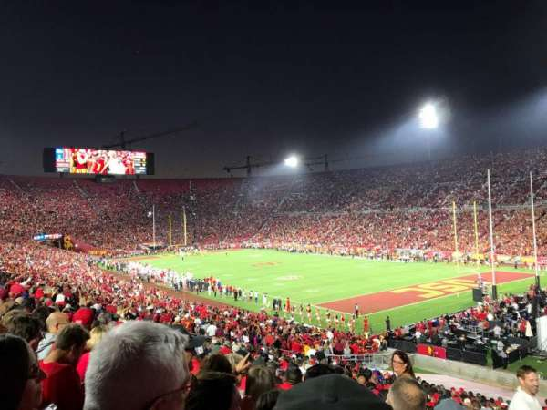 Los Angeles Memorial Coliseum, section: 102, row: 43, seat: 1