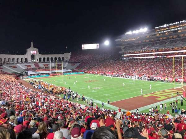Los Angeles Memorial Coliseum, section: 117, row: 43, seat: 12