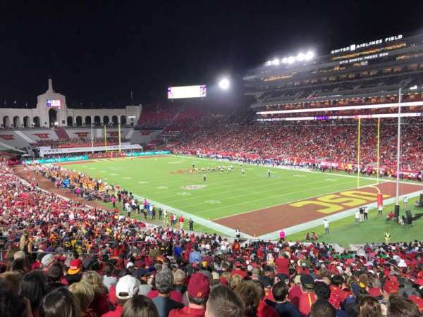 Los Angeles Memorial Coliseum, section: 117, row: 43, seat: 9