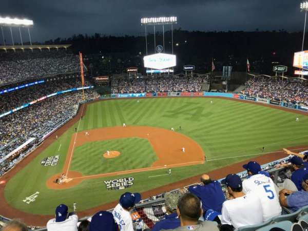 Dodger Stadium, section: 12TD, row: E, seat: 5