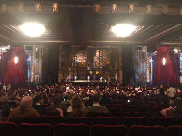 Hollywood Pantages Theatre, section: Orchestra C, row: VV, seat: 111