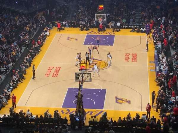 Staples Center, section: 309, row: 5, seat: 5