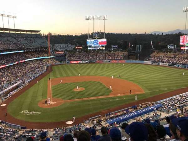 Dodger Stadium, section: 8RS, row: G, seat: 10