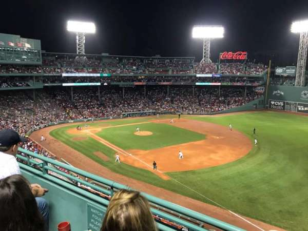 Fenway Park, section: Pavilion Reserved 15, row: B, seat: 11