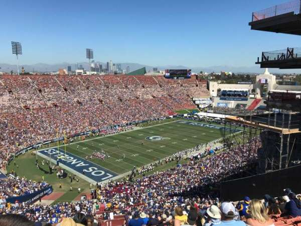 Los Angeles Memorial Coliseum, section: 11L, row: 93, seat: 2