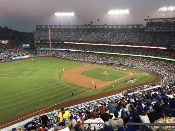Dodger Stadium, section: 39RS, row: R, seat: 5