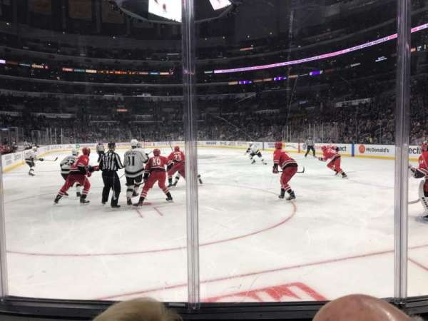 Staples Center, section: 116, row: 4, seat: 14