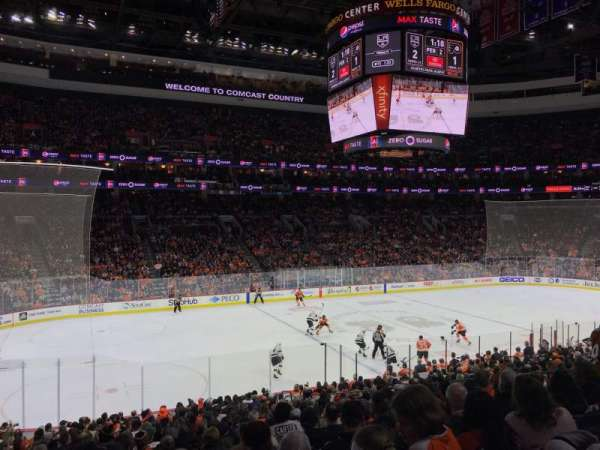 Wells Fargo Center, section: 123, row: 23, seat: 8