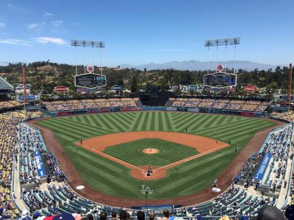 Dodger Stadium, section: 1RS, row: L, seat: 7