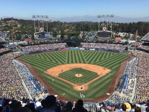 Dodger Stadium, section: 3TD, row: N, seat: 1