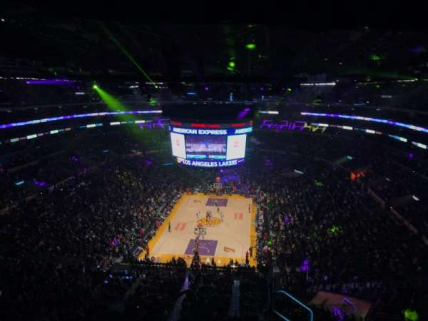 Staples Center, section: 309, row: 7, seat: 2