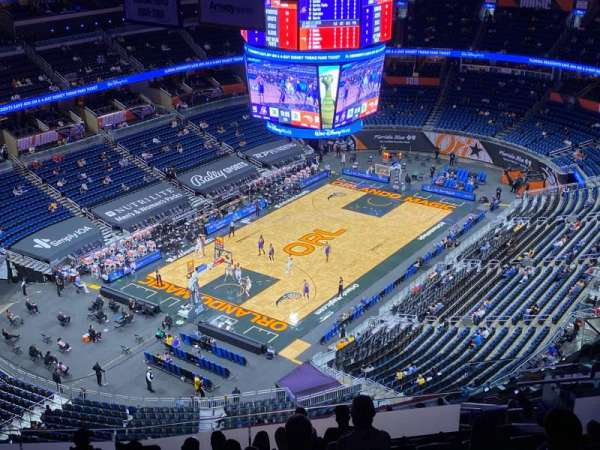 Amway Center, section: 230, row: 16, seat: 15