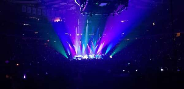 Madison Square Garden, section: 1, row: 18, seat: 1