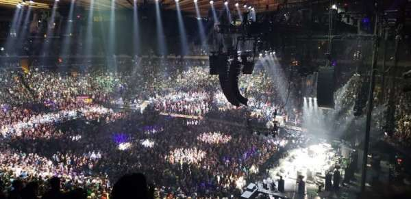 Madison Square Garden, section: 214, row: 8, seat: 8
