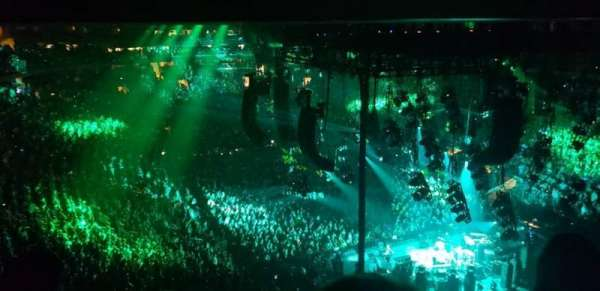 Madison Square Garden, section: 414, row: 3