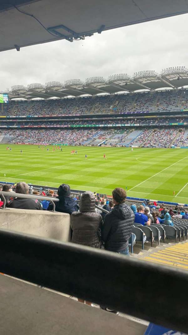Croke Park, section: 301, row: RR, seat: 10
