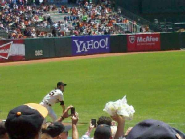AT&T Park, section: 127, row: 11, seat: 9