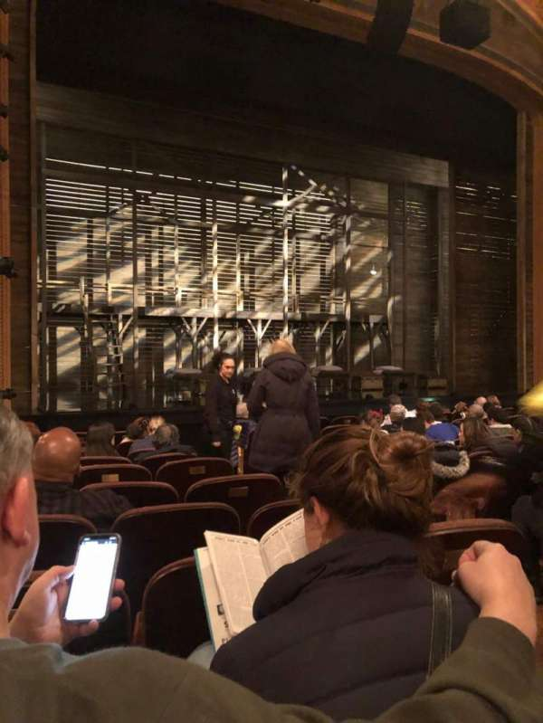 American Airlines Theatre, section: Orchestra L, row: K, seat: 5