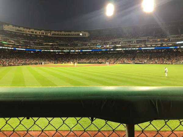 PNC Park, section: 140, row: A, seat: 20