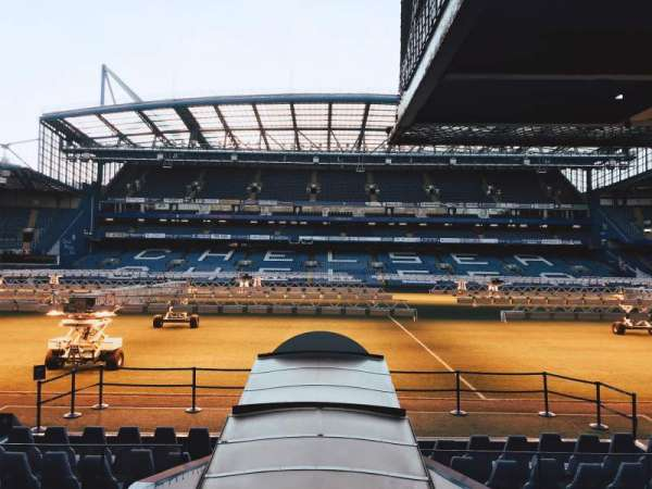 Stamford Bridge, section: East Stand Hospitality, row: N/A, seat: N/A