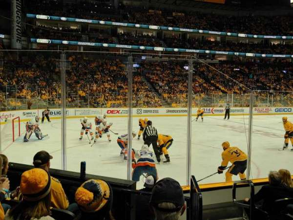 Bridgestone Arena, section: 113, row: FF, seat: 1