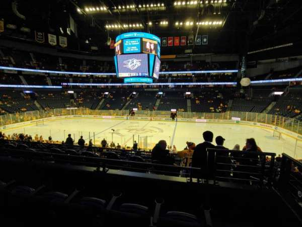 Bridgestone Arena, section: 106, row: L, seat: 1