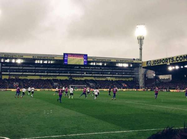 Selhurst Park, section: Lower Holmesdale Block H, row: 6, seat: 149