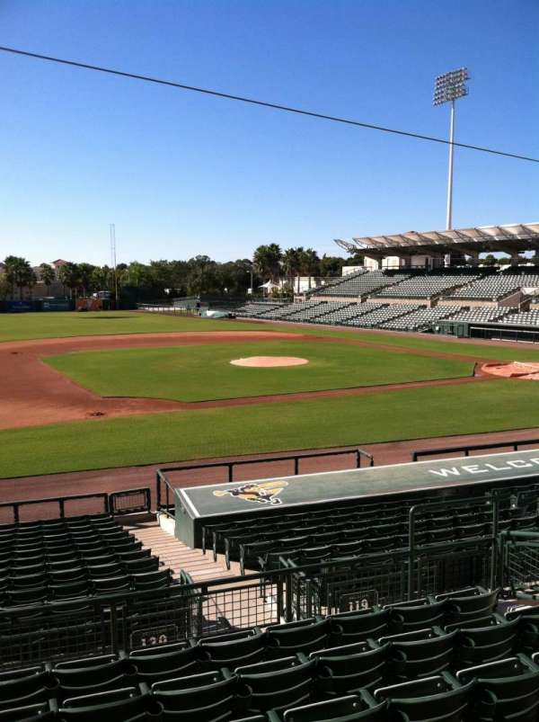 Ed Smith Stadium, section: 219, row: 7, seat: 12