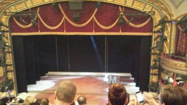Richard Rodgers Theatre, section: Rear Mezzanine C, row: G, seat: 104