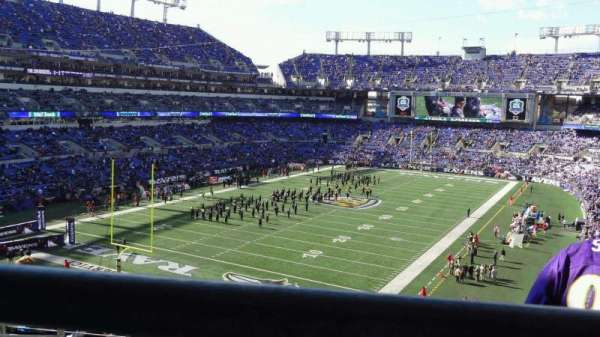 M&T Bank Stadium, section: 209, row: 9, seat: 11
