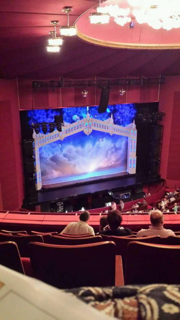The Kennedy Center Opera House, section: 2nd Tier, row: F, seat: 131