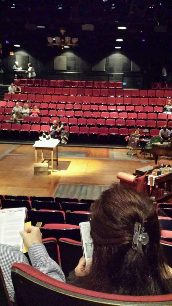 Circle in the Square Theatre, section: Orchestra, row: G, seat: 221