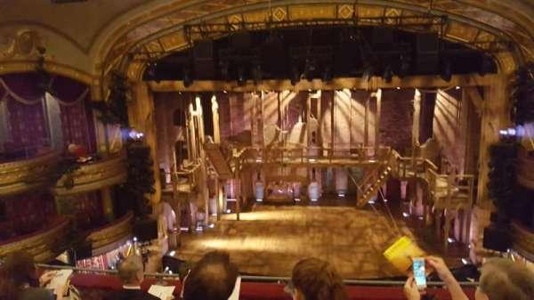 Richard Rodgers Theatre, section: Front mezzanine c, row: E, seat: 107