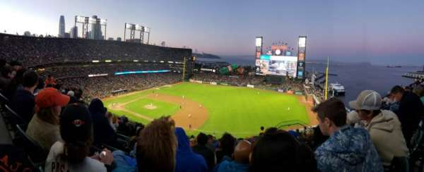 Oracle Park, section: 305, row: 8, seat: 8